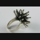 DESIGN IGEL RING  SKULL GOTHIC TRIBAL 925 ECHT SILBER SILBERRING / 189