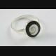 DESIGN MUSCHEL RING Größen verstellbar 925 ECHT SILBER SILBERRING / 612