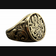 DESIGN KELTISCH GOTHIC RING SILBER 925 SILBERRING / 424