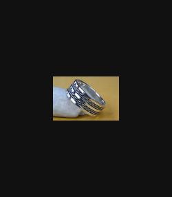 TRIBAL BIKER MASSIVER GOTHIC RING, 925er Silber 148