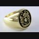 DESIGN KELTISCH GOTHIC BIKER TATTOO RING SILBER 925 SILBERRING / 011