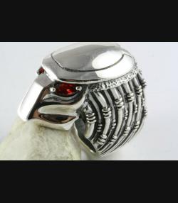 Predator Ring Alien vs. Predator Skull Ring Silberring 925 Silber / 436