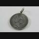 Queen Elizabeth II Five Pence Silber Münze Anhänger 925 SILBER / 097